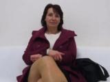 Paní Miroslava na castingu