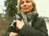 Německý mladík svede na ulici zralou maminu #5