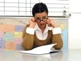 Nadržená učitelka souloží se studentem – Mrs. James