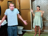 Kamarádova máma ve sprše
