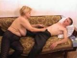 Ruská máma šuká se synáčkem #13